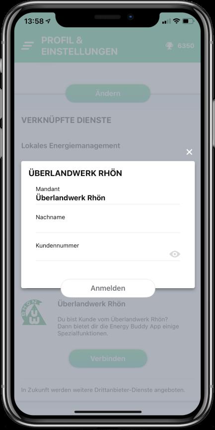 Verknüpfen mit dem ÜWR-Portal