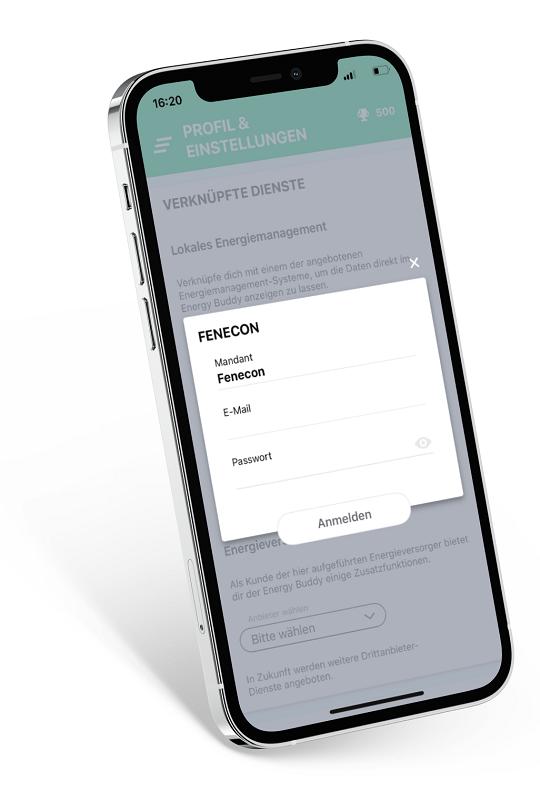 Verknüpfen mit dem Fenecon FEMS-Portal