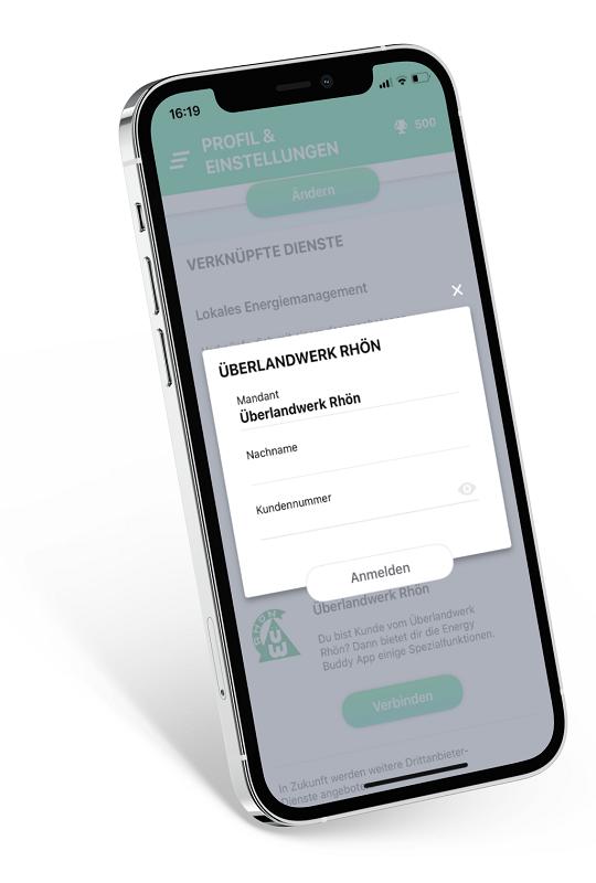 Verbinden mit dem ÜWR-Portal